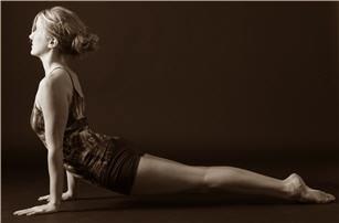 Yoga Instructor Jennifer Clark