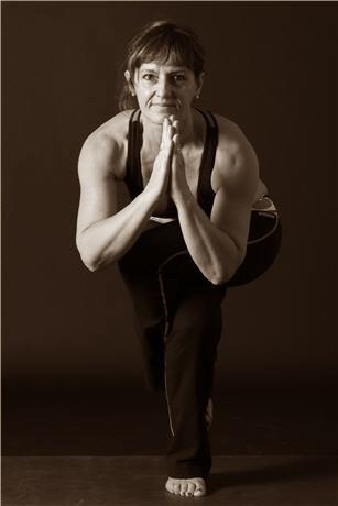 Yoga Instructor Martine Delcroix